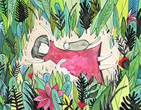 Sábado, de Alfonsina Storni - Libro álbum ilustrado