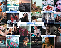 40 Lightroom Presets Bundle