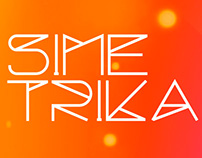 SIMETRIKA FONT