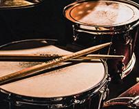 Vic Firth drumsticks Landing Page