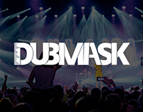 "Logo Branding & Typography - ""DUBMASK"" DJ"