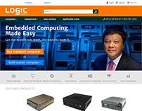 Logic Supply: homepage optimization