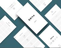 Mobile App UI - Drop