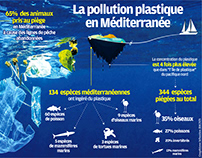La pollution plastique en Méditerranée
