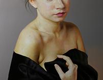 Blackness oil on canvas