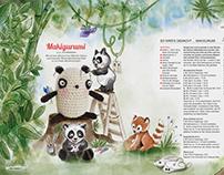 Editorial Design 'Makigurumi'