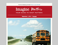 Imagine Matters redesigned