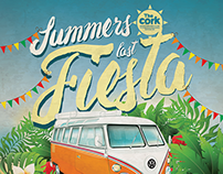 The Cork Bank Holiday Summers Last Fiesta 2015 Poster