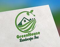 Landsacape Logo Design