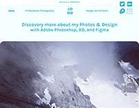 Yeah~ My New Website Design