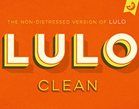 Lulo Clean Fonts by Yellow Design Studio