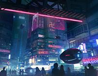 Cyberpunk Taipei