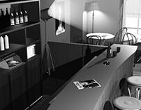 Interior for classic movie cinema