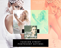 Fashion Street Actions for Photoshop