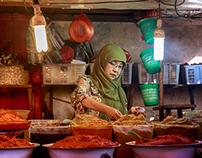 Wet market seller
