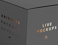 Animated Box Mock-up