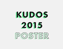 Poster Design - The Kudos Awards 2015
