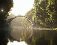 CGI--The Bridge at Rakotz