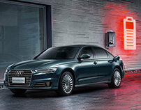 New Audi A6L e-tron