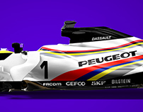 Group C/F1 Crossover liveries