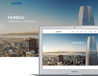 HUNDAI - ENGINEERING & CONSTRUCTION UI/UX WEB