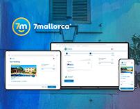 Ux/UI - 7mallorca - Booking Process