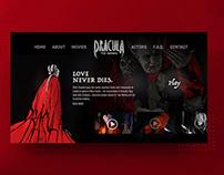 Dracula Website Interface