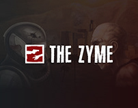 Landing page for mobile game – The Zyme