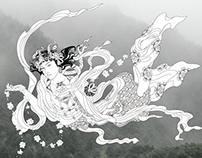 Guardian Buddha : 飛天 Hiten(Flying Apsara)