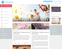 blog-wordpress template