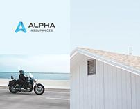 Alpha Assurance Site Web
