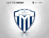 CF Monterrey | logo redesign