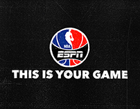 NBA on ESPN TV Spots