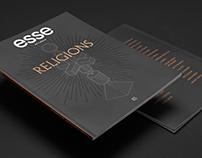 Esse 83, Religions — Illustrations et mise en page