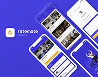 Ratemate - Mobile application UI/UX