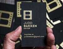 Judd Bakken Editor