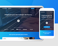 Acamica Landing Page