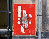 Herbert Typeface - Posters serie