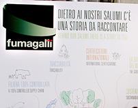 FUMAGALLI: personalizzazione stand CIBUS '16