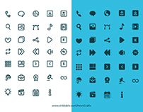 34 Website Icons Set