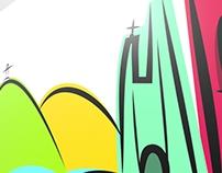Logo Comemorativa Turismo Corumbá