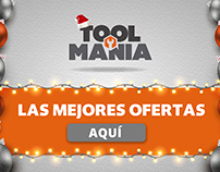 "Toolmania ""Navidad"" Newsletter, Slide y Pop Up"
