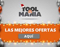 "Toolmania ""Navidad"" Newsletter, Slide y Pop Up"