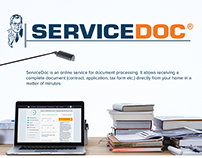 ServiceDoc is an online service for document processing