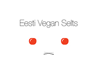 Logo designs for Estonian Vegan Association
