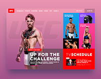 Bold redesign UFC