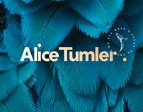 Alice Tumler branding.