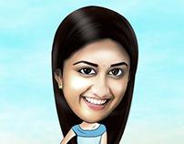 Actress - Caricature - 5