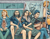 Neanderthals in the subway