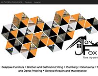 Website Geometric Header